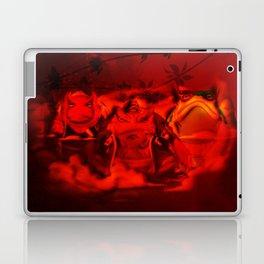 hermit frog Laptop & iPad Skin