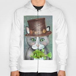 Steampunk Cat Hoody
