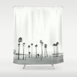 Bleached Beach Shower Curtain