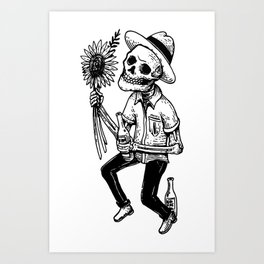 Love cold Art Print