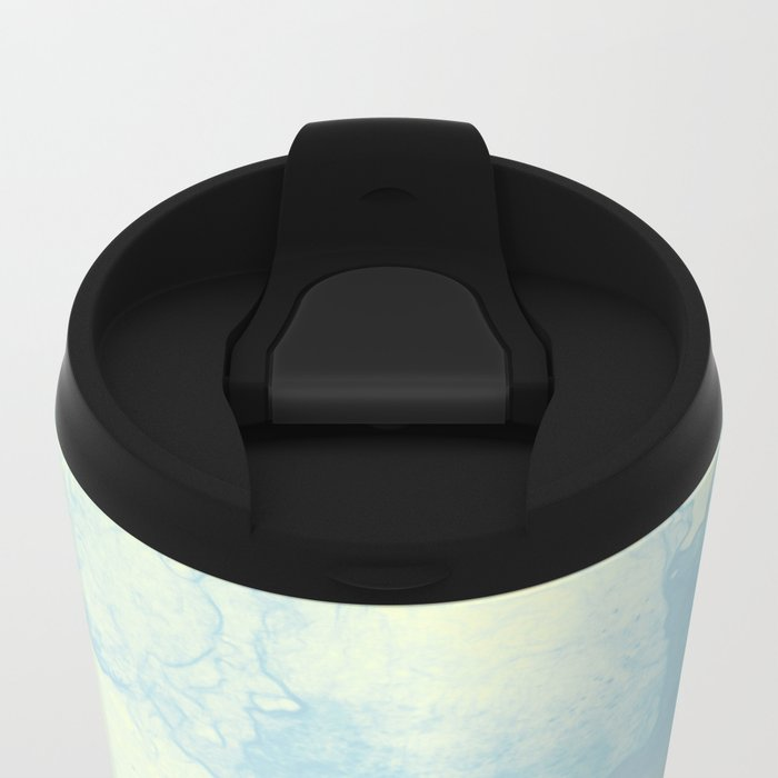 Hazy Afternoon Metal Travel Mug