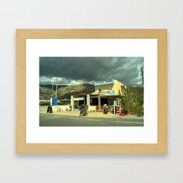 Goudouras Tavern Framed Art Print