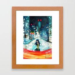 Vjezba Framed Art Print