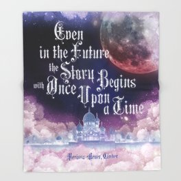 Cinder - Once Upon a Time Throw Blanket