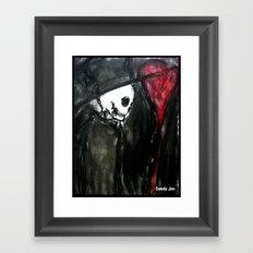Dark Romantic Framed Art Print