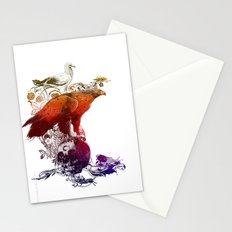 the watchers 3 color version Stationery Cards