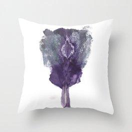 Verronica's Vulva Print. No.1 Throw Pillow