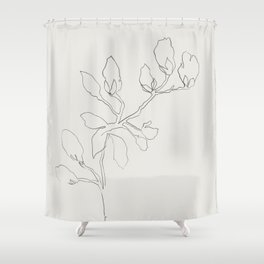 Floral Study No. 3 Shower Curtain