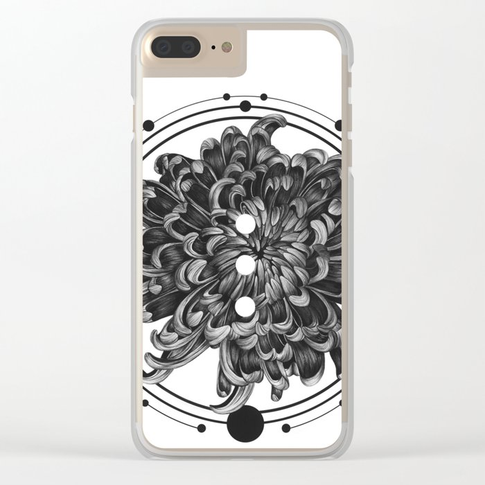 Elliptical III Clear iPhone Case