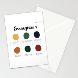 Enneagram 5 Stationery Cards