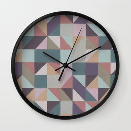 Mosaic I Wall Clock