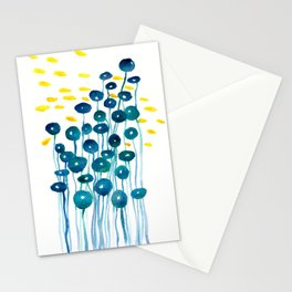 The Mermaid's Wineglasses Stationery Cards