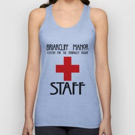 Briarcliff Manor STAFF Unisex Tank Top