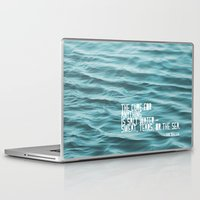 the cure Laptop & iPad Skins featuring SaltWater Cure by Christine Hall