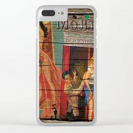 cuba libre Clear iPhone Case