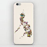 philippines iPhone & iPod Skins featuring 7,107 Islands | A Map of the Philippines by QUEQZZ
