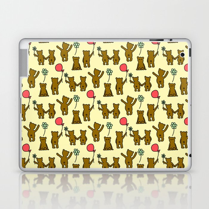 Happy Teddies  Laptop & iPad Skin