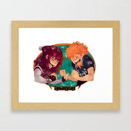 We Love Haikyuu!! Framed Art Print