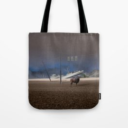 atmosphere · stupidity Tote Bag