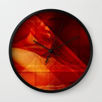 passion Wall Clocks featuring Passion by Fine2art