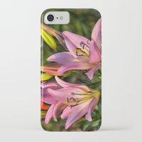 lily iPhone & iPod Cases featuring lily by Karl-Heinz Lüpke