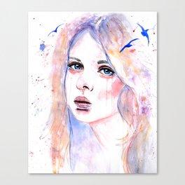 Sullen Canvas Print