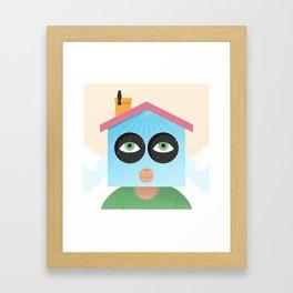 House of Birds Framed Art Print