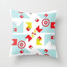 time (line) Throw Pillow