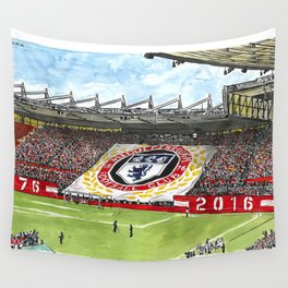 THE BOYS END Wall Tapestry