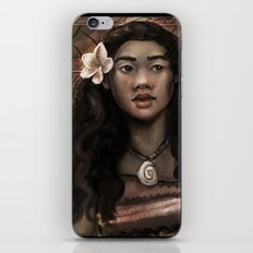 MOANA: Wahine nani iPhone & iPod Skin