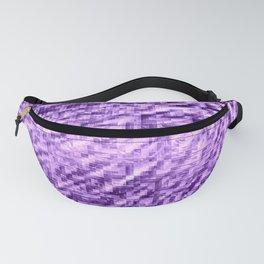 Purple Pixels Wind Fanny Pack