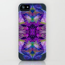 Tropical Hues in Dew iPhone Case