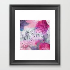 Sweet Dreams I Framed Art Print