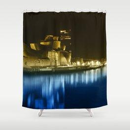 Colorful Guggenheim Shower Curtain