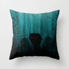 Wolf Pass Throw Pillow