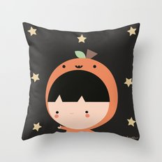 Cute Pumpkin Throw Pillow