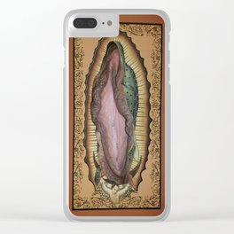 Piel Sagrada Clear iPhone Case