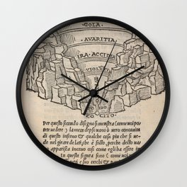 Overview of Hell Wall Clock