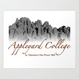 Appleyard College (PICNIC AT HANGING ROCK) Art Print