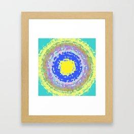 moderation Framed Art Print