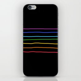 Abstract Retro Stripes #3 iPhone Skin