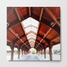 Pavilion Metal Print