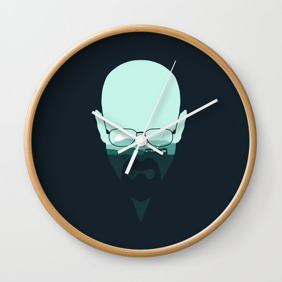 Heisenberg Wall Clock