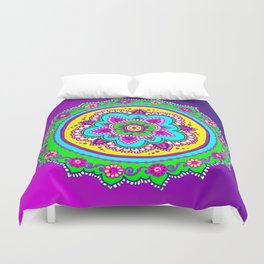 Morning Bollywood Duvet Cover