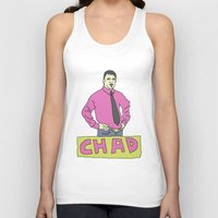 chad wys Tank Tops featuring chad by gutswav