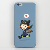 happiness iPhone & iPod Skins featuring Happiness by Freeminds
