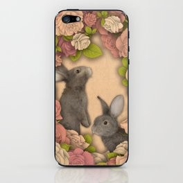 Rosie Rabbits iPhone Skin