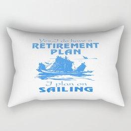 SAILING PLAN Rectangular Pillow