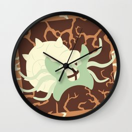 Omastar Used Earthquake! Wall Clock