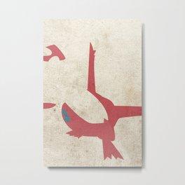 Latias Metal Print